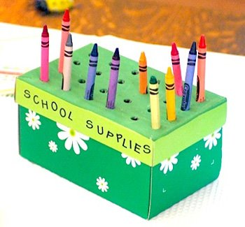 crayon craft kids