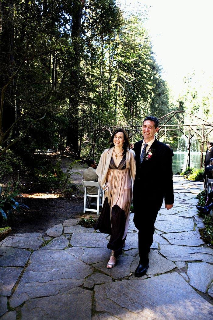 outdoor wedding in california nestldown