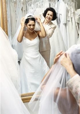 second hand wedding dresses and the oh mommy moment