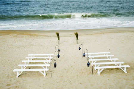 wedding-benches