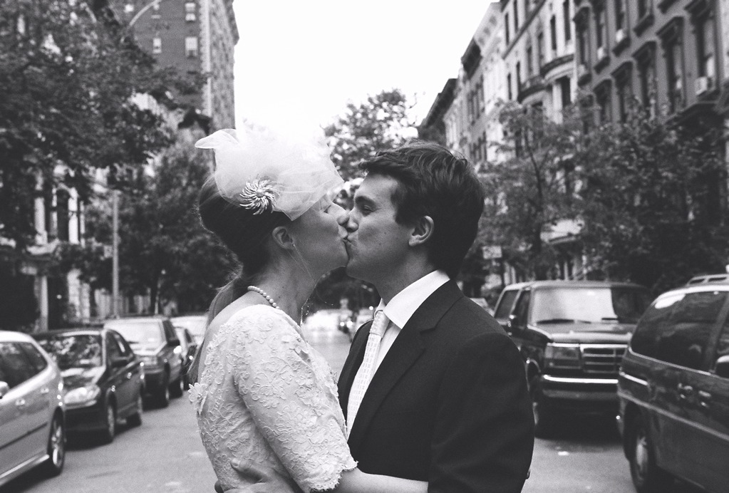 ny wedding couple