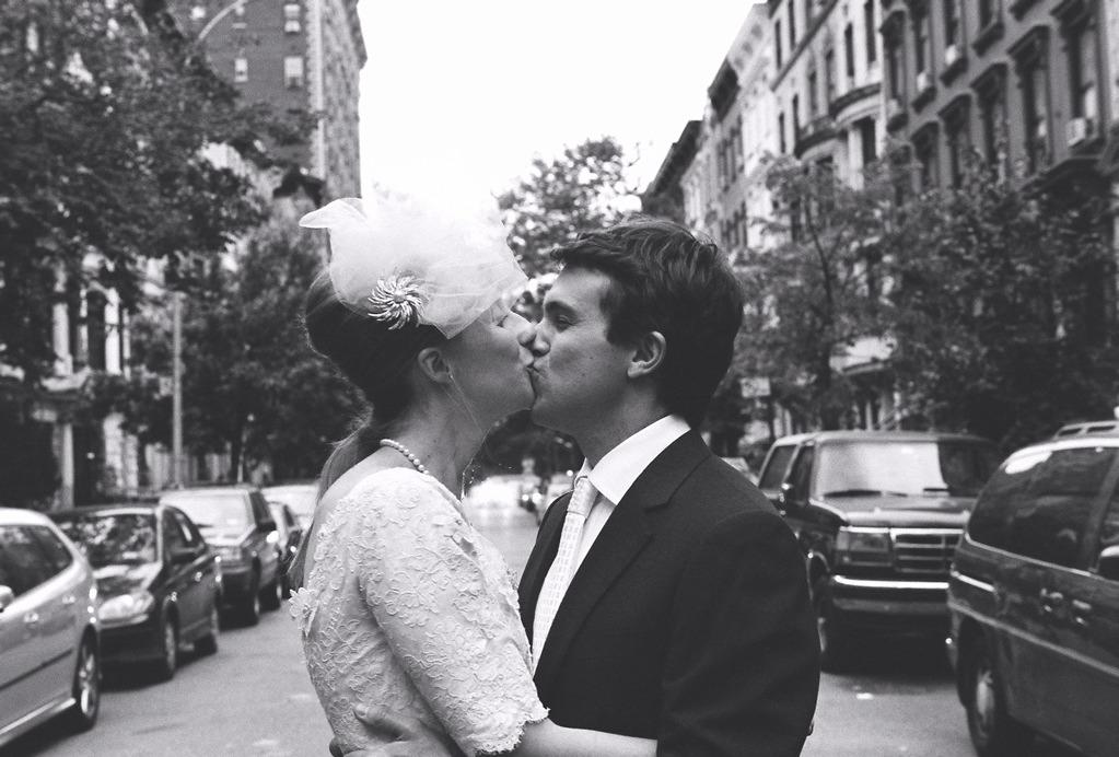 ny wedding couple