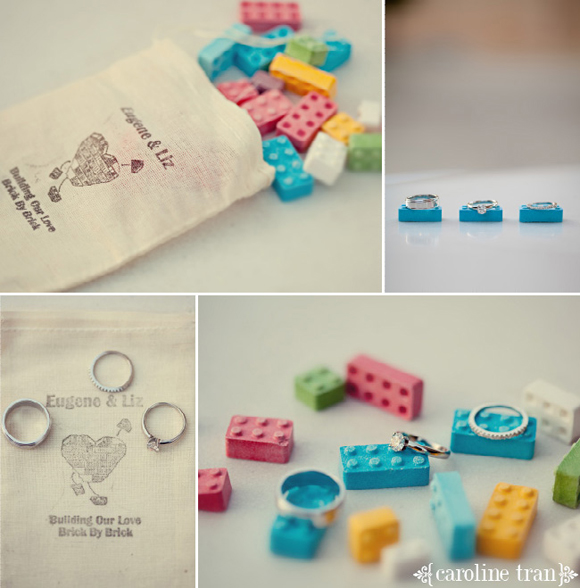 The Lego Wedding: Unique Reception Ideas
