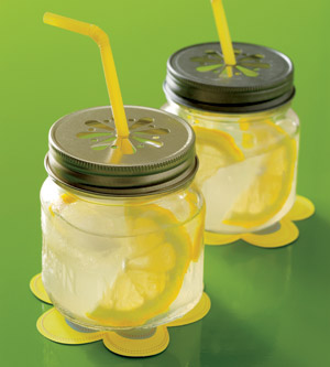 mason jar lemonade