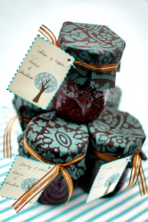 DIY jam favors