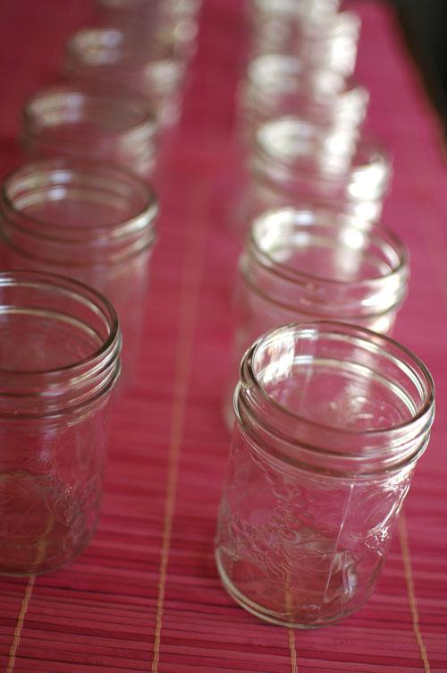 mason jars for canning jam
