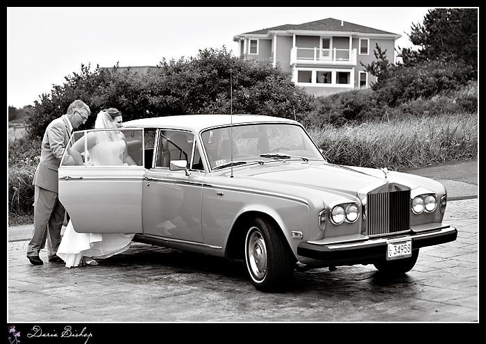 vintage rolls getaway car