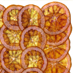 Blood orange paper
