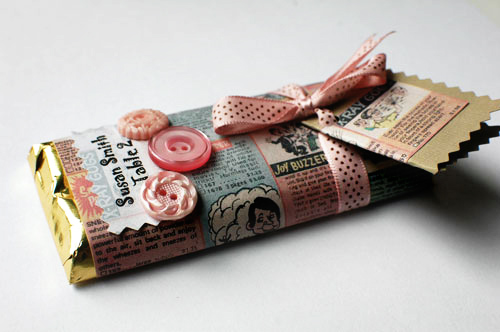 wedding candy bar wrappers
