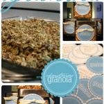 homemade granola with free wedding printables