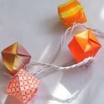 origami lights