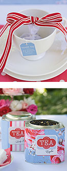 tea party wedding free printables