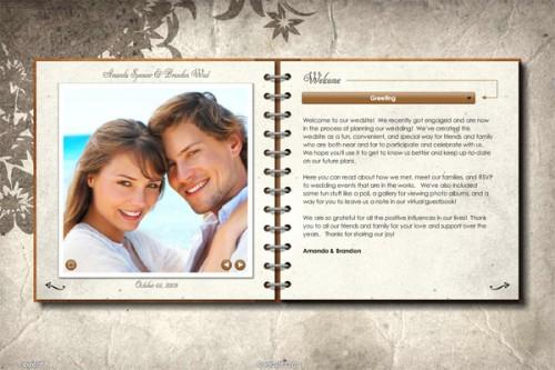 Hiện nay, các cặp đôi có thể dễ dàng tạo website về đám cưới của mình với Wedsite.com