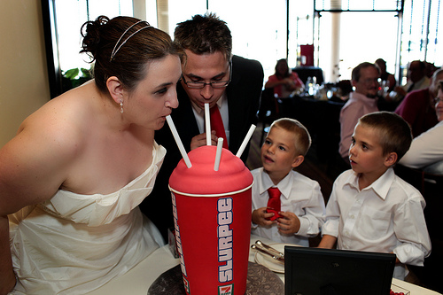 slurpee wedding