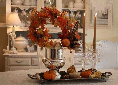 Ideas For Fall Wedding Centerpieces: Autumn Theme Wedding Ideas