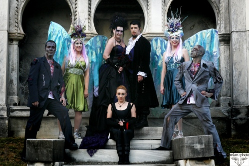 halloween wedding theme gothic wedding