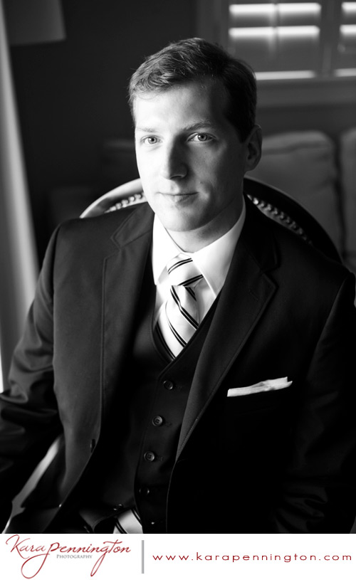 destination wedding groom in dark suit