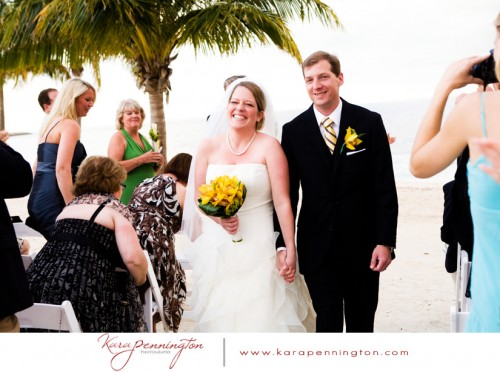 beach wedding ceremony in bahamas