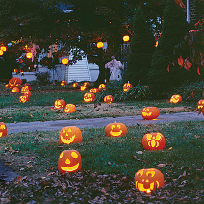 pumpkin luminaries
