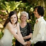 outdoor wedding on Vancouver island
