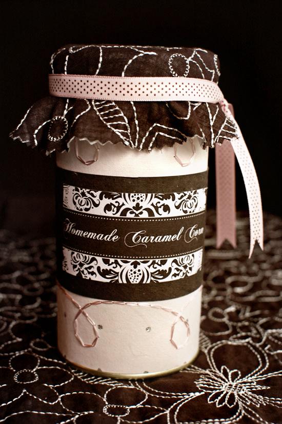 caramel corn wedding favors
