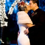 winter wedding in california