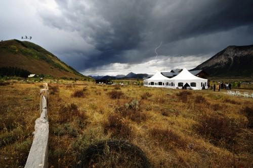 thunderstorm wedding