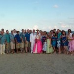 galveston beach wedding