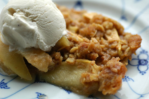 oatmeal apple crisp recipe