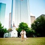downtown texas wedding