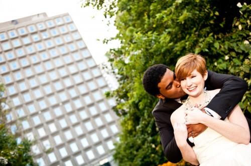 wedding couple in montreal