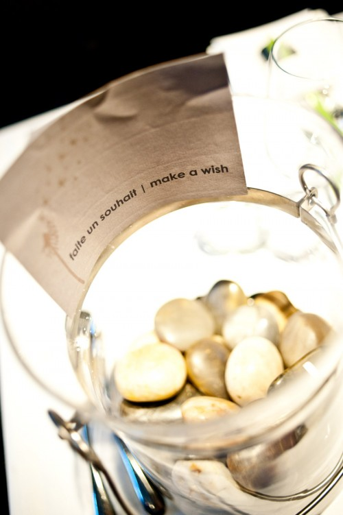 wedding wishing stones