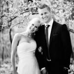 swedish wedding couple