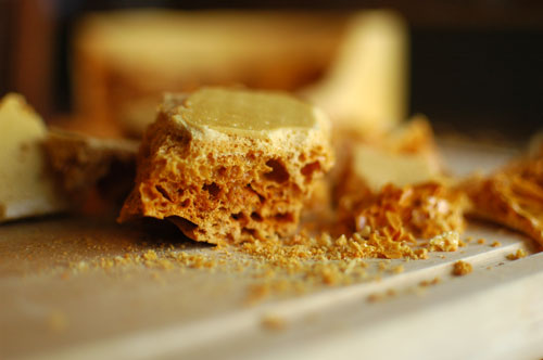 sponge candy recipe
