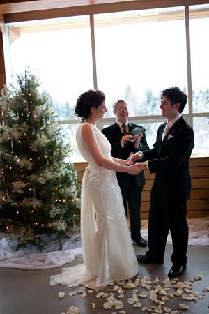 wedding ceremony in BC