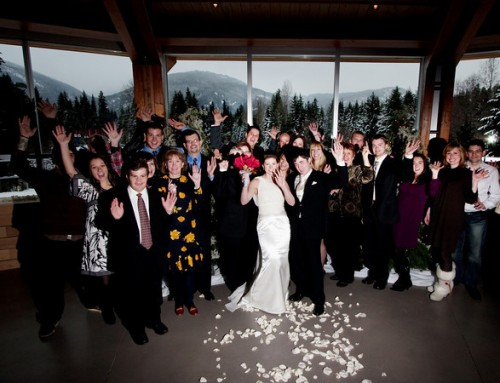 small wedding in BC