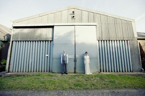 vintage wedding at a farm