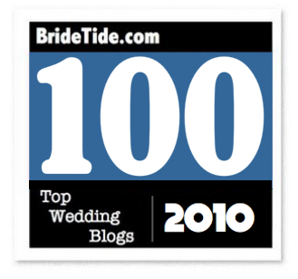TOP 100 WEDDING BLOGS 2010