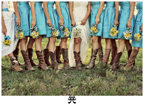 Cowboy Wedding: It's all about the Boots