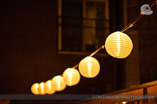 paper lanterns for outdoor wedding