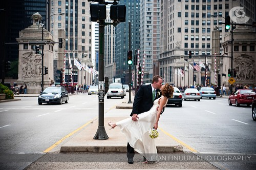 Real Weddings: Erika & Dave's Restaurant Wedding In Chicago