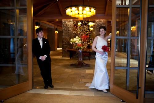 mountain wedding BC