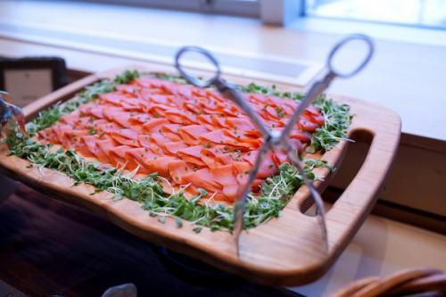 salmon appetizers wedding