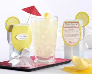 lemonade wedding favors