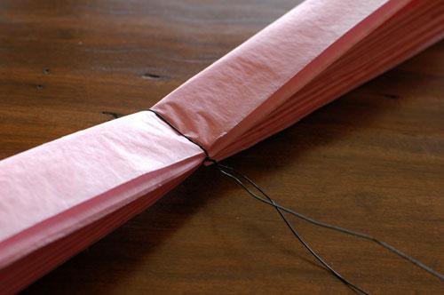 make paper pom poms