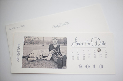 save the date printable