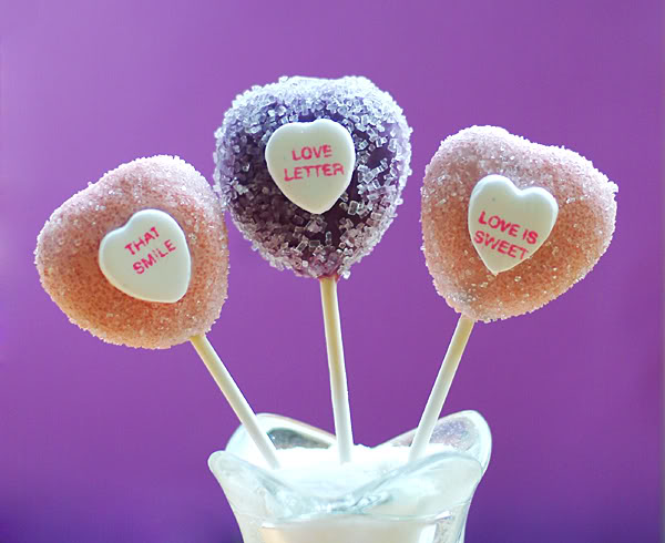 valentines cupcake pops