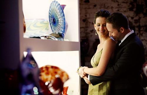 glass house wedding