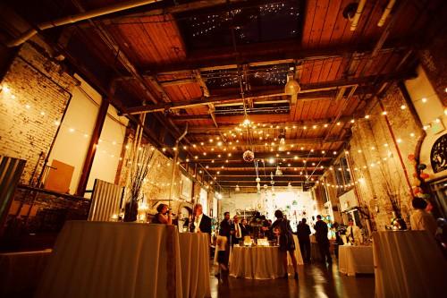 Glass studio wedding
