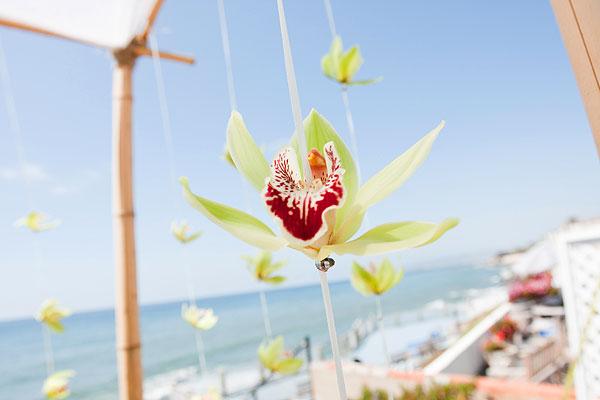 dangling flowers
